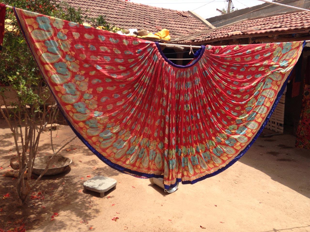 sari-skirt