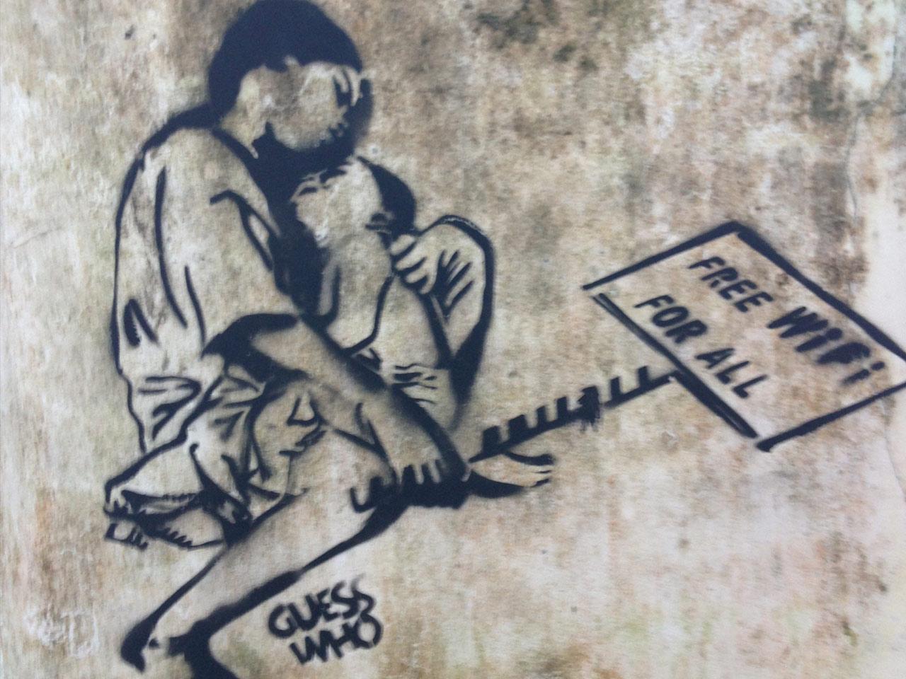 India-Banksey